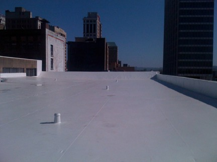 Completed Duro-Last Roof Replacement